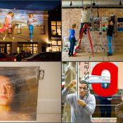 Scenes from FotoWeekDC, an annual celebration of photography in Washington, DC. Georgetown - Washington, DC.