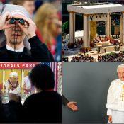 The Papal Mass at Washington Nationals stadium. Washington, DC.